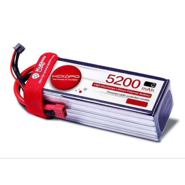 5200MAH 45C 6S 22.2V KDLipo