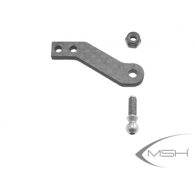 Tail pitch carbon lever