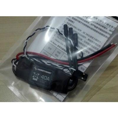 ESC, HobbyWing Xrotor 40A OPTO Kabel (2-6S)