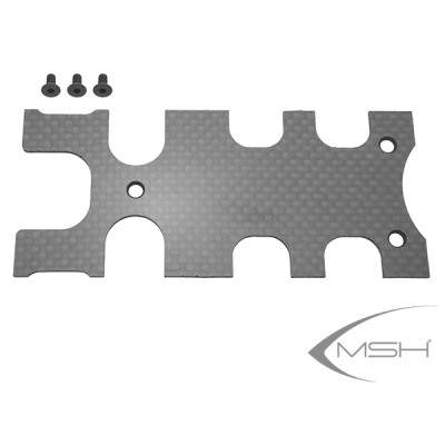 Carbon cover Frame rear plate