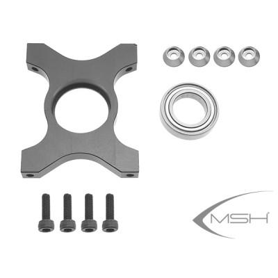 Third bearing support