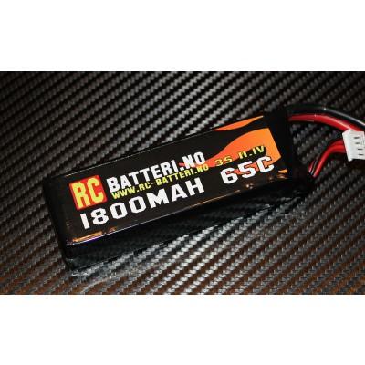 1800MAH 65C 3S 11.1V RC-Batteri.no