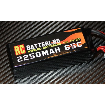 2250MAH 65C 4S 14.8V RC-Batteri.no