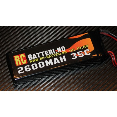 2600MAH 35C 4S 14.8V RC-Batteri.no