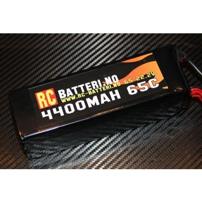 4400MAH 65C 6S 22.2V RC-Batteri.no