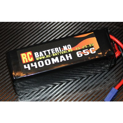 4400MAH 65C 7S 25.9V RC-Batteri.no
