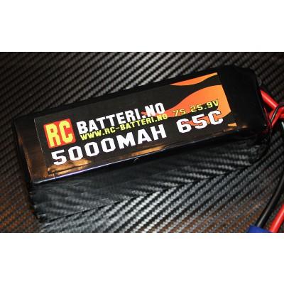 5000MAH 65C 7S 25.9V RC-Batteri.no