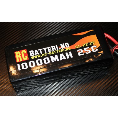 10000MAH 25C 4S 14.8V RC-Batteri.no