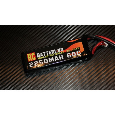 2250MAH 35C 3S 11.1V RC-Batteri.no