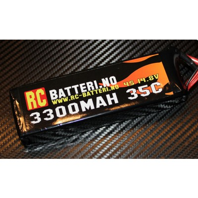 3300MAH 35C 4S 14.8V RC-Batteri.no