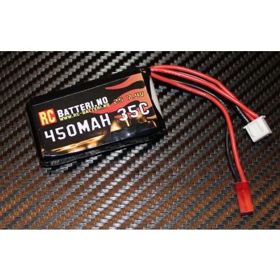 450MAH 35C 2S 7.4V RC-Batteri.no