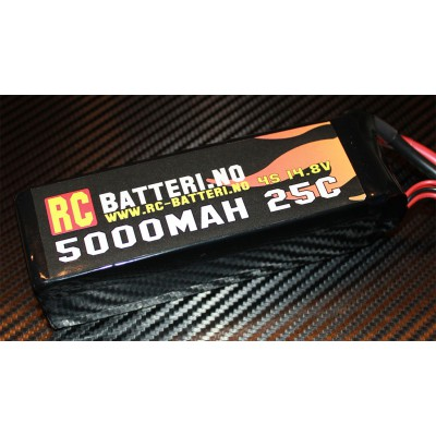 5000MAH 25C 4S 14.8V RC-Batteri.no