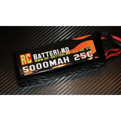 5000MAH 25C 5S 18.5V RC-Batteri.no