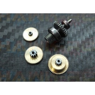 ServoKing DS-999 Complete Servo Gear Set (med lager)