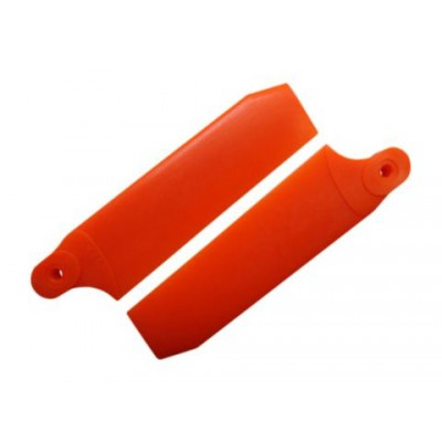 KBDD 84.5mm Neon Orange Extreme Edition Tail Rotor Blades - 550 Size