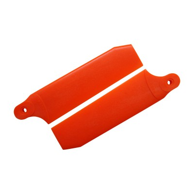 KBDD 96mm Neon Orange Extreme Edition Tail Rotor Blades - 600 Size