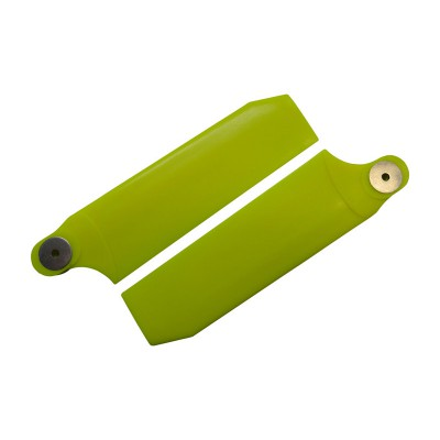KBDD 112mm Neon Yellow Extreme Tail Rotor Blades - 700 Size