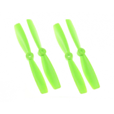 DAL PROP 4045 Bullnose Propeller, grønn, 2x cw + 2x ccw