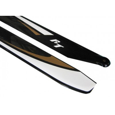 RotorTech 380mm Flybarless Carbon Fiber Main Blades