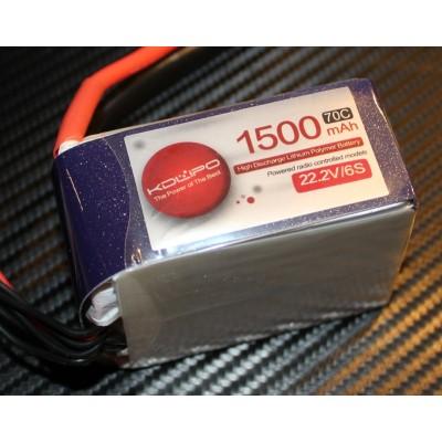 1500MAH 70C 6S 22.2V KDLipo