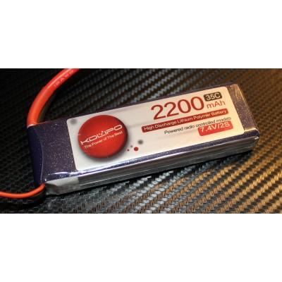 2200MAH 35C 2S 7.4V KDLipo