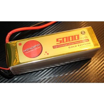 5000MAH 70C 6S 22.2V KDLipo Gold