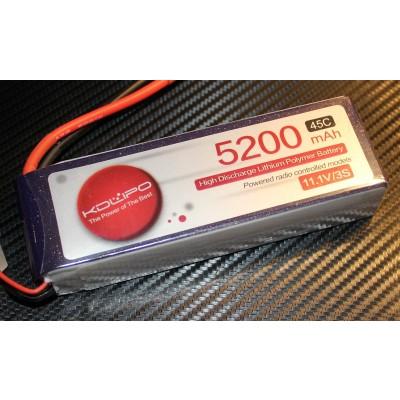 5200MAH 45C 3S 11.1V KDLipo