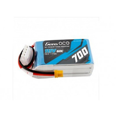 Lipo Battery 11,1V, 3S-700mAh, LOGO 200