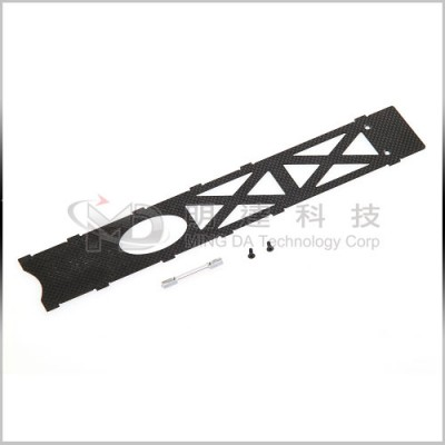 MD-NV2-02 - Main Frame Bottom Plate - Carbon