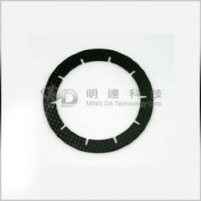 MD7104 Carbon Main Gear Spacer
