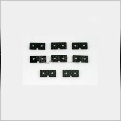 MD7105 Carbon Servo Mounting Plates