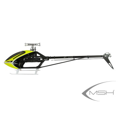MSH71520 Protos Max V2 Leggero + BrainV2 - Neon yellow