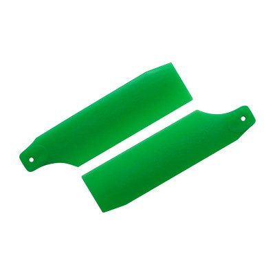 KBDD 61mm Neon Green Tail Rotor Blades - 450 Size