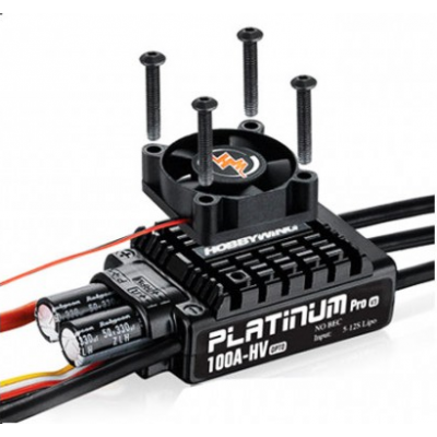 ESC, HobbyWing Platinum Pro V3 100A-HV