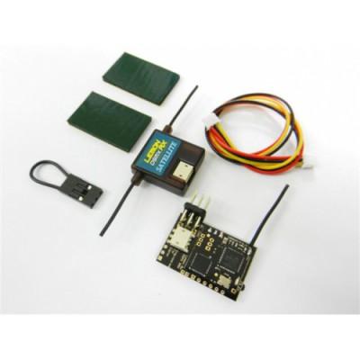 Lemon DSMX PPM 8-Kanals mottager + Satellitt med Failsafe
