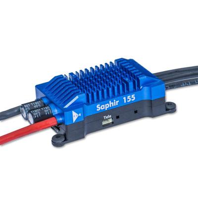 ESC, YGE Saphir 155 Brushless ESC 155A with Telemetry 4-8S