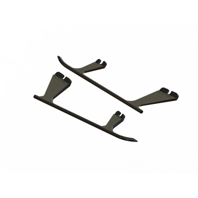SP-OXY2-023 - OXY2 - Plastic Landing Gear Skid, Left / Right - Black